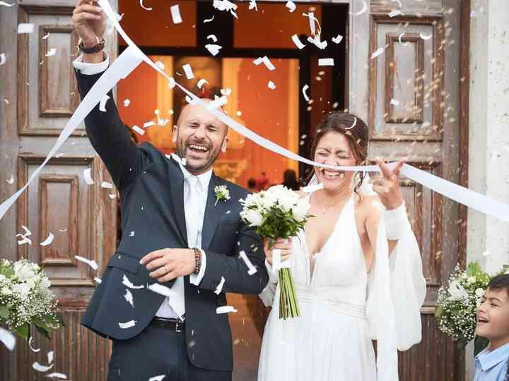 le nozze di Mirella e Emanuele