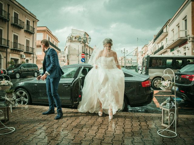 Il matrimonio di Giovanni e Valentina a Pietraperzia, Enna 37