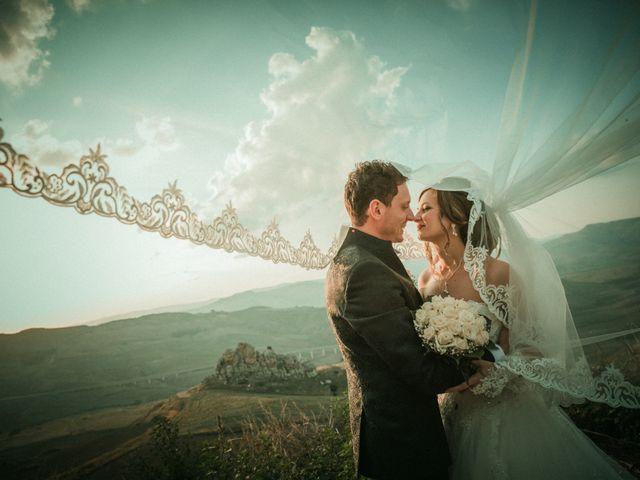 Il matrimonio di Giovanni e Valentina a Pietraperzia, Enna 47