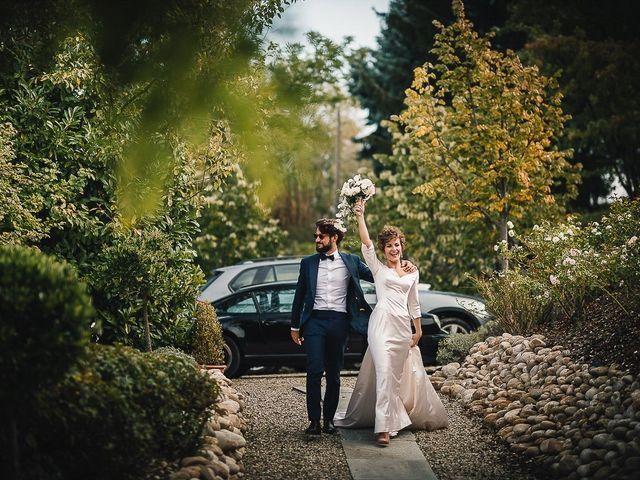 Il matrimonio di Tommaso e Clarissa a Mombaruzzo, Asti 43