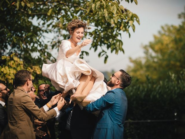 Il matrimonio di Tommaso e Clarissa a Mombaruzzo, Asti 57