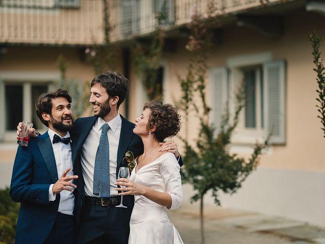 Il matrimonio di Tommaso e Clarissa a Mombaruzzo, Asti 63