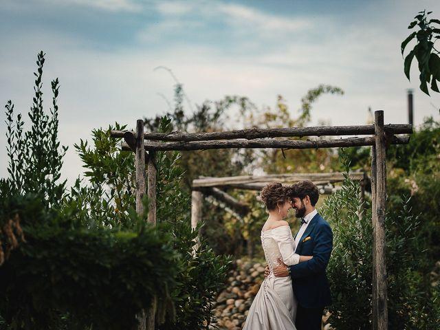 Il matrimonio di Tommaso e Clarissa a Mombaruzzo, Asti 89