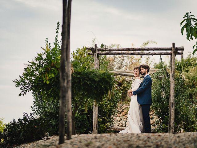 Il matrimonio di Tommaso e Clarissa a Mombaruzzo, Asti 91