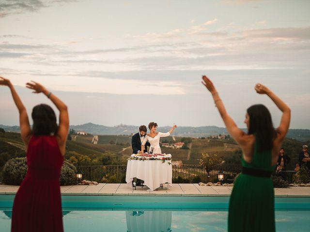 Il matrimonio di Tommaso e Clarissa a Mombaruzzo, Asti 99