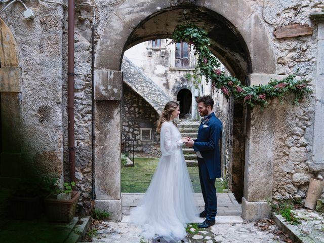 Il matrimonio di Edward e Alissa a Santo Stefano di Sessanio, L'Aquila 30