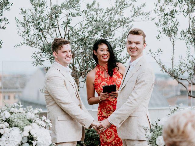 Le nozze di Nathan e Rory