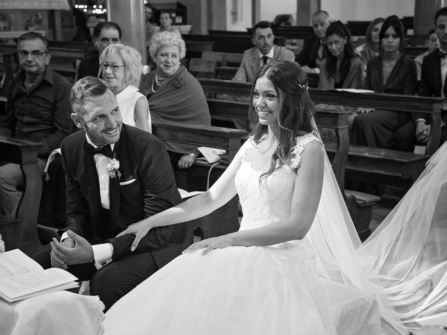 Il matrimonio di Marco e Sara a Volpago del Montello, Treviso 17