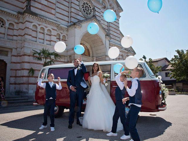 Il matrimonio di Marco e Sara a Volpago del Montello, Treviso 30