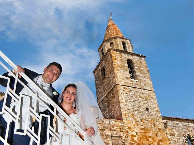 Il matrimonio di Donato e Angela a Castelnuovo della Daunia, Foggia 13
