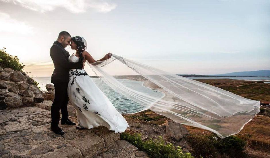 Il matrimonio di Marino e Angelica  a Cabras, Oristano