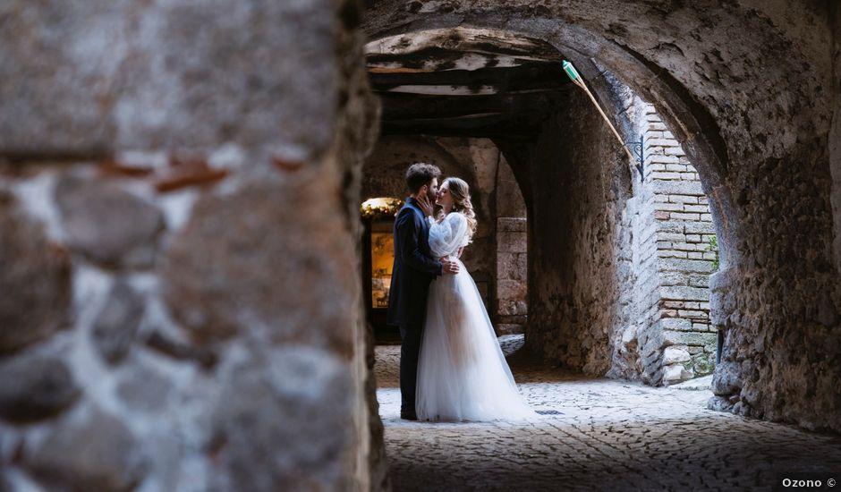 Il matrimonio di Edward e Alissa a Santo Stefano di Sessanio, L'Aquila