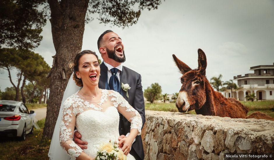 Il matrimonio di Tonio e Roberta a San Pancrazio Salentino, Brindisi