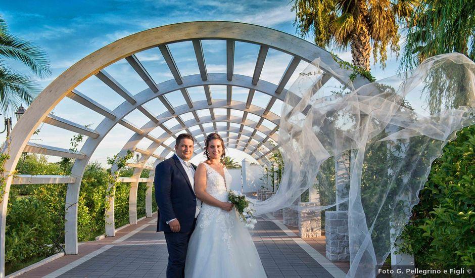 Il matrimonio di Donato e Angela a Castelnuovo della Daunia, Foggia