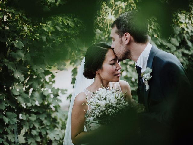 le nozze di Sang e Andrea