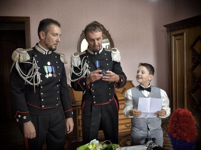Il matrimonio di Diego e Tania a Casaprota, Rieti 1