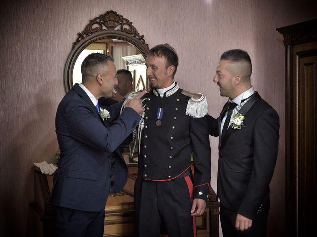 Il matrimonio di Diego e Tania a Casaprota, Rieti 10