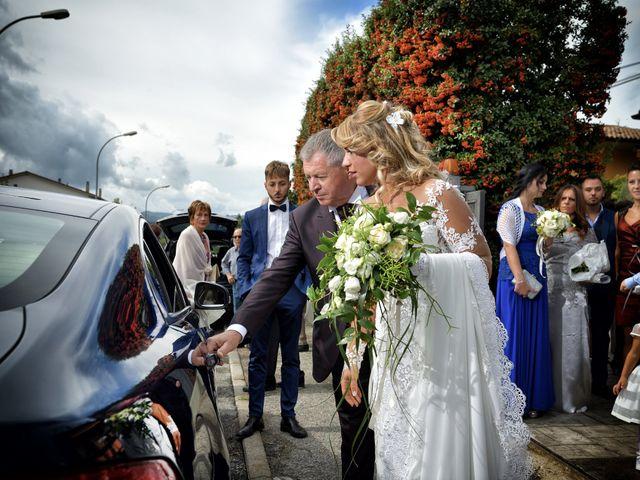 Il matrimonio di Diego e Tania a Casaprota, Rieti 25