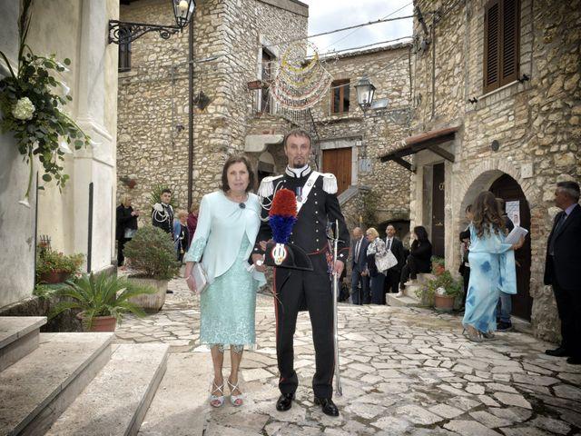 Il matrimonio di Diego e Tania a Casaprota, Rieti 27