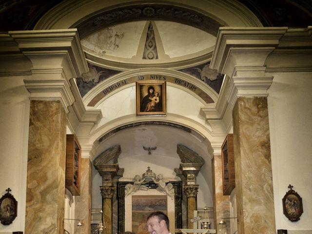Il matrimonio di Diego e Tania a Casaprota, Rieti 29