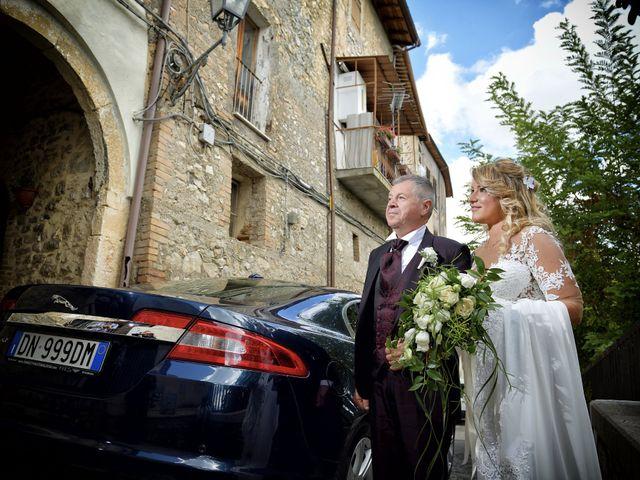 Il matrimonio di Diego e Tania a Casaprota, Rieti 31