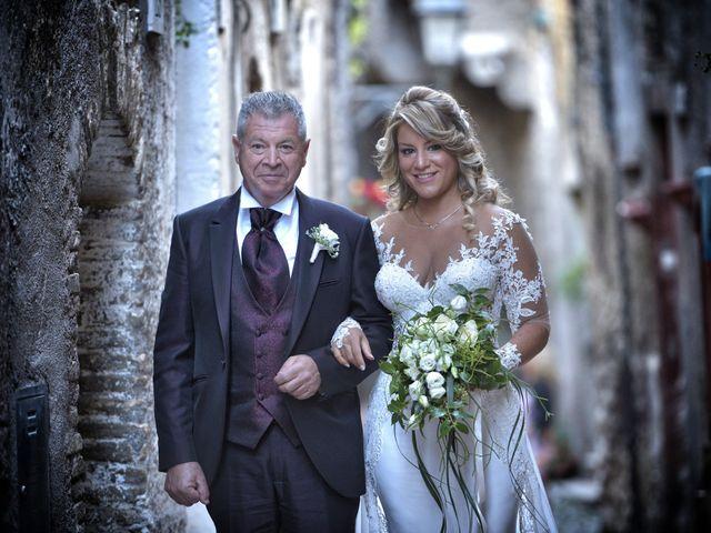 Il matrimonio di Diego e Tania a Casaprota, Rieti 33