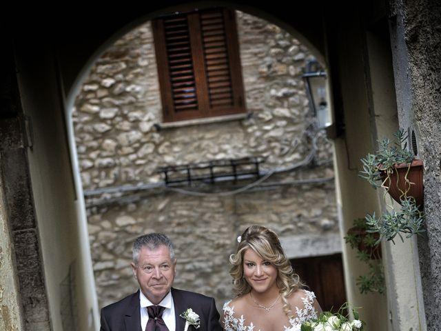 Il matrimonio di Diego e Tania a Casaprota, Rieti 34