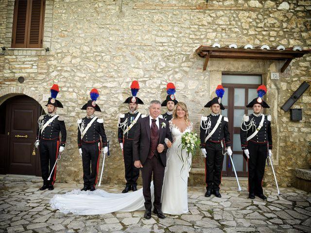 Il matrimonio di Diego e Tania a Casaprota, Rieti 35