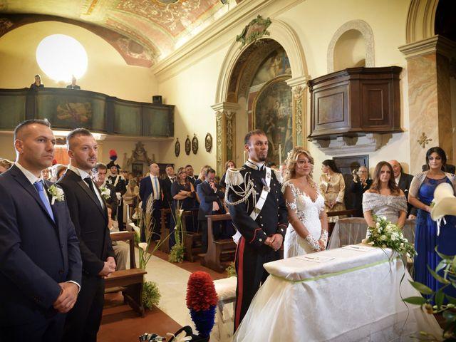 Il matrimonio di Diego e Tania a Casaprota, Rieti 37