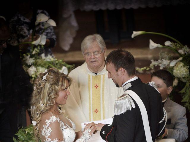 Il matrimonio di Diego e Tania a Casaprota, Rieti 42