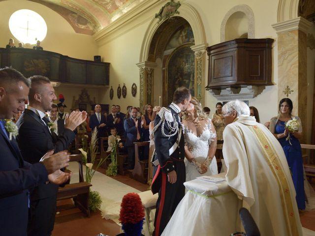 Il matrimonio di Diego e Tania a Casaprota, Rieti 44