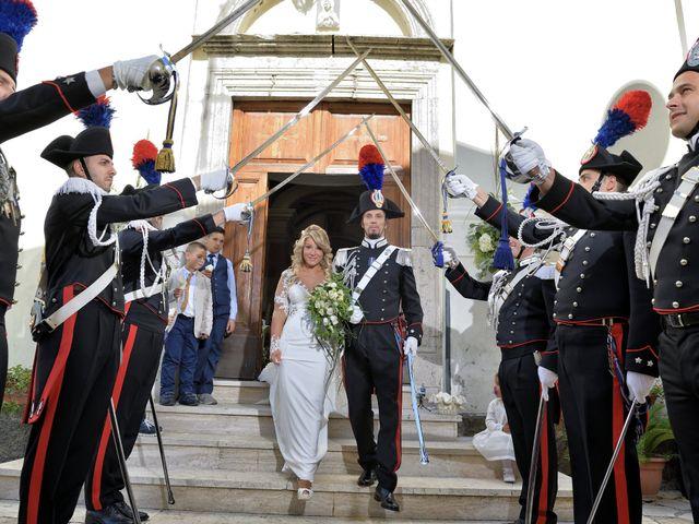 Il matrimonio di Diego e Tania a Casaprota, Rieti 53