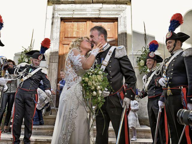 Il matrimonio di Diego e Tania a Casaprota, Rieti 54
