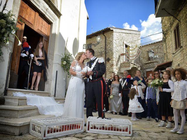 Il matrimonio di Diego e Tania a Casaprota, Rieti 55