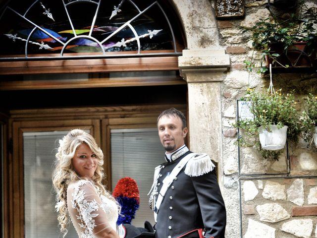 Il matrimonio di Diego e Tania a Casaprota, Rieti 60