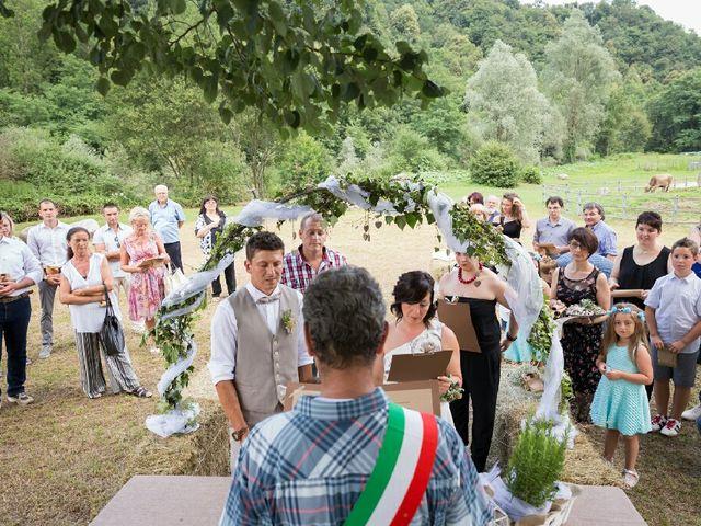 Il matrimonio di Henri e Sonia a Postua, Vercelli 14