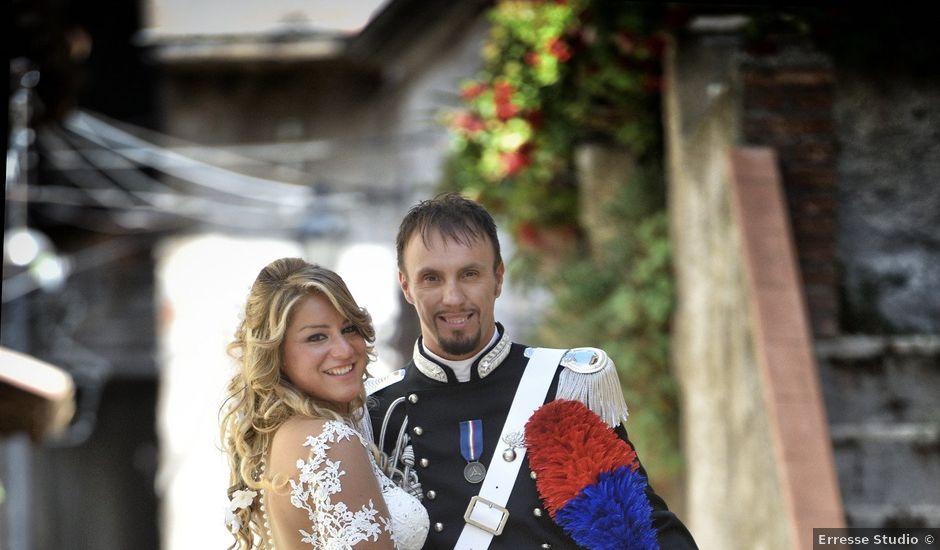 Il matrimonio di Diego e Tania a Casaprota, Rieti