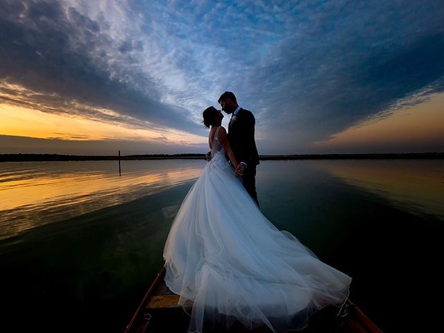 le nozze di Cristina e Manuel