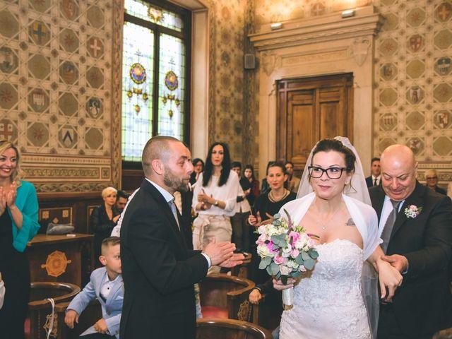 Il matrimonio di Fabio e Stefania a Legnano, Milano 61