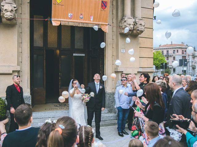 Il matrimonio di Fabio e Stefania a Legnano, Milano 91
