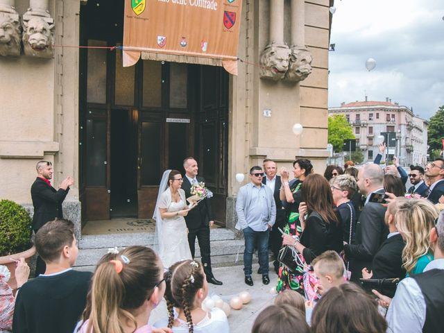 Il matrimonio di Fabio e Stefania a Legnano, Milano 93