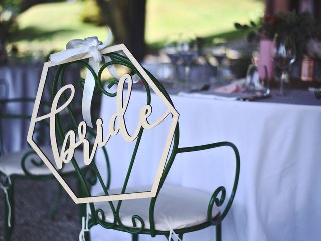 Il matrimonio di Clayton e Lara a Laveno-Mombello, Varese 5
