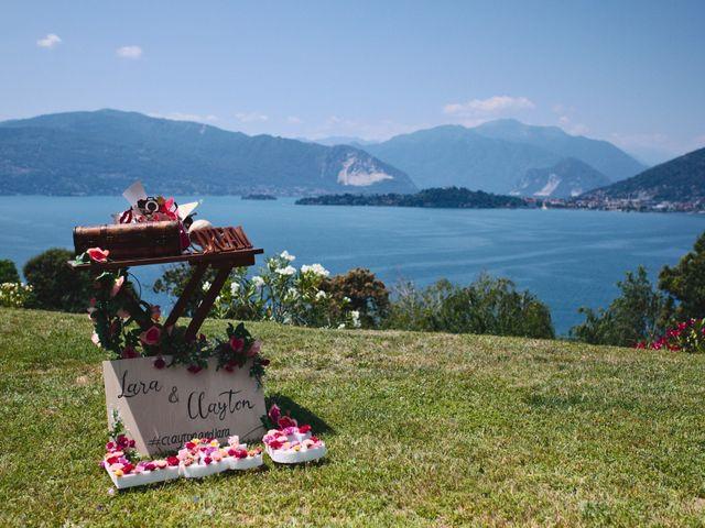 Il matrimonio di Clayton e Lara a Laveno-Mombello, Varese 6