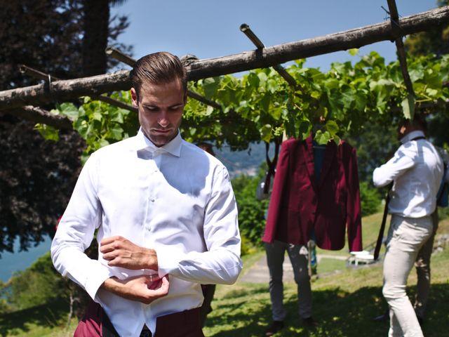 Il matrimonio di Clayton e Lara a Laveno-Mombello, Varese 9