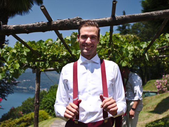 Il matrimonio di Clayton e Lara a Laveno-Mombello, Varese 11