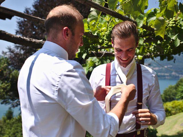 Il matrimonio di Clayton e Lara a Laveno-Mombello, Varese 13