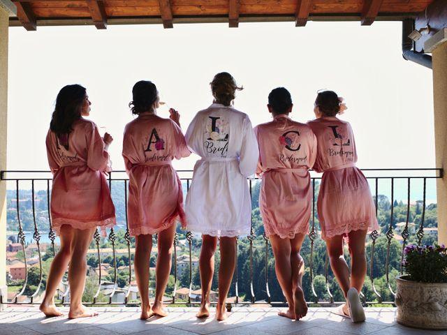 Il matrimonio di Clayton e Lara a Laveno-Mombello, Varese 27