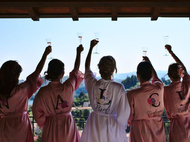 Il matrimonio di Clayton e Lara a Laveno-Mombello, Varese 28