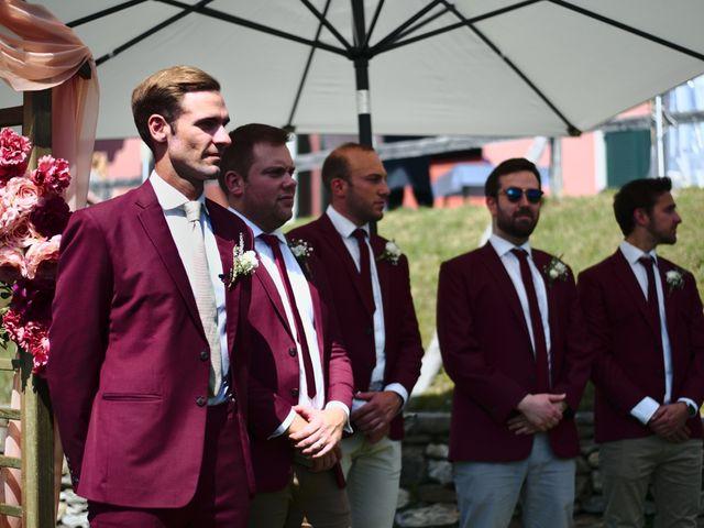 Il matrimonio di Clayton e Lara a Laveno-Mombello, Varese 30