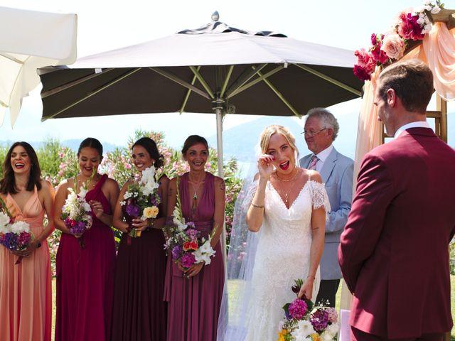 Il matrimonio di Clayton e Lara a Laveno-Mombello, Varese 32
